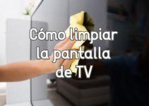Como limpiar el polvo de la televisión