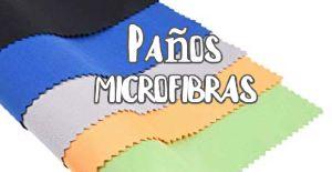 paños microfiber ras para limpiar pantallas planas