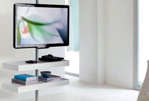 soporte tv pie