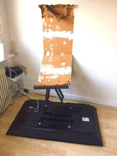 Peso que aguanta soporte TV